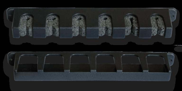 Кронштейн для зберігання спінінгів навісний