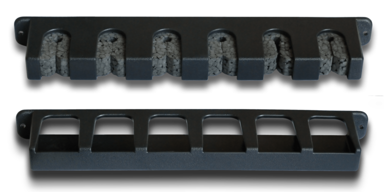 Mounting bracket for spinning storage