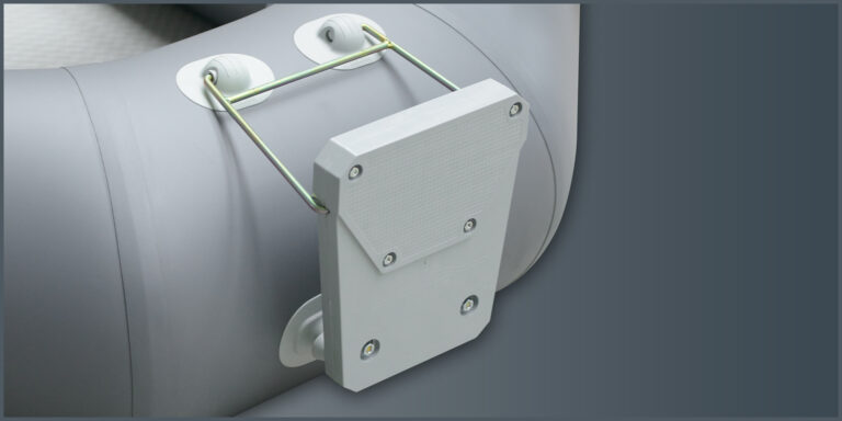 Hinge transom for the inflatable boat with mounting - image 3