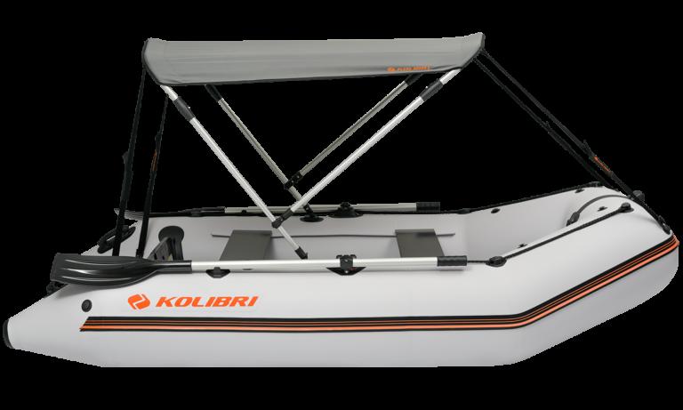 Bimini top for inflatable boat