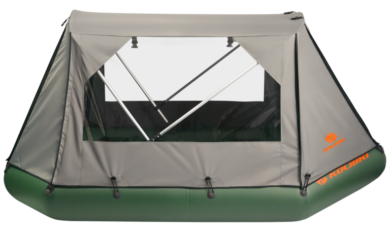 Protective canopy for rowing boats