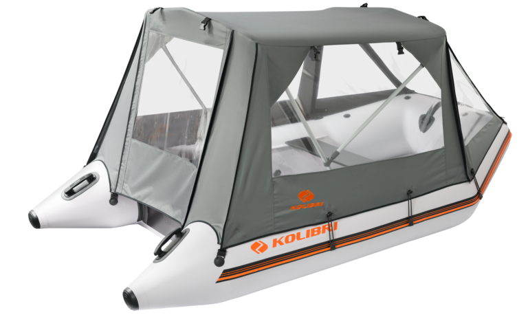 Protective canopy for motor boats - image 3